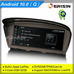"""CarPlay Android 10 Autoradio BMW 3er E90 5er E60 CCC GPS Mirror BT IPS 4G 10.25"""""""