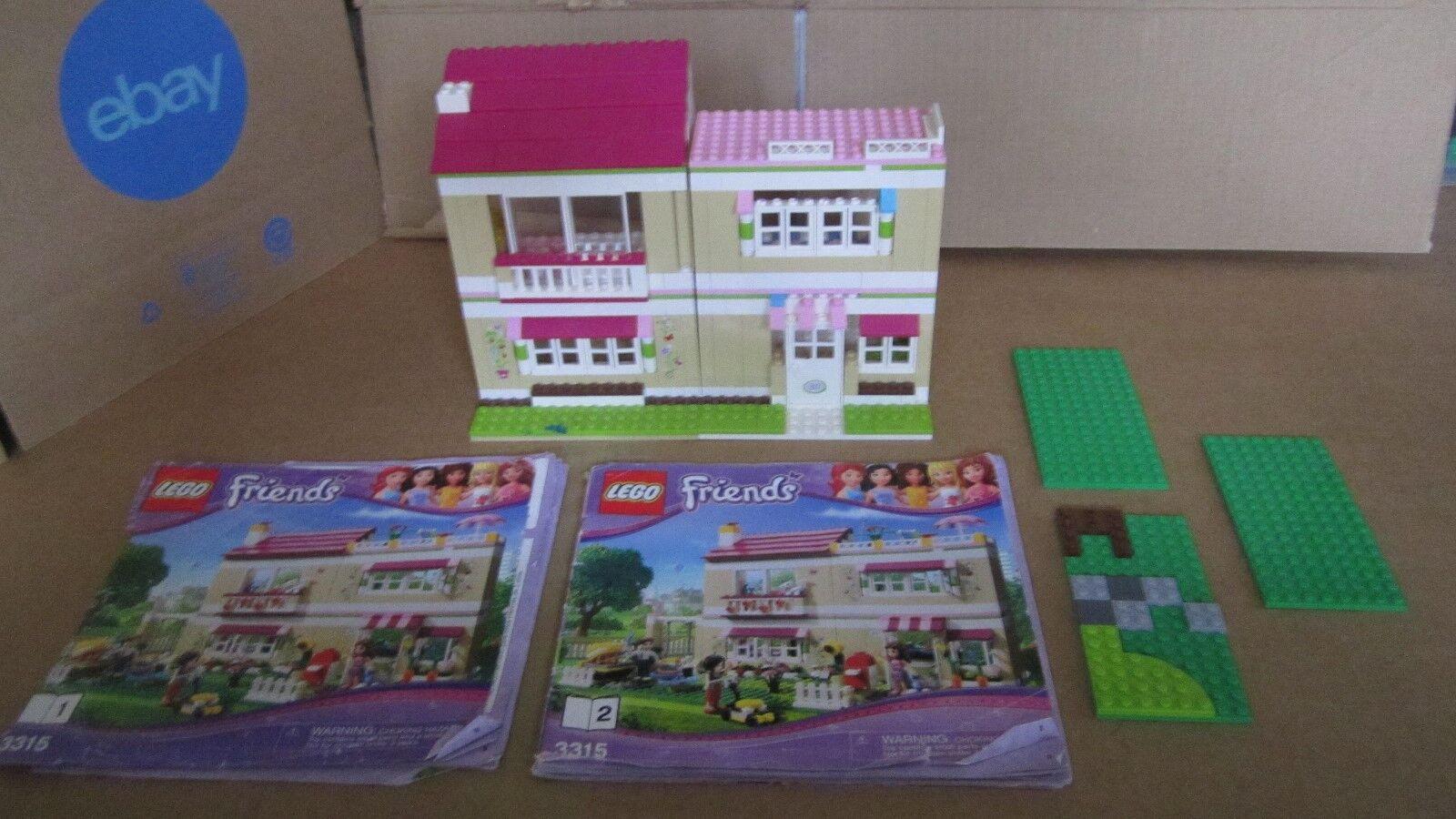 Lego Lego Lego Friends 3315 Olivia's House Parts Lot No Minifigures 52218b