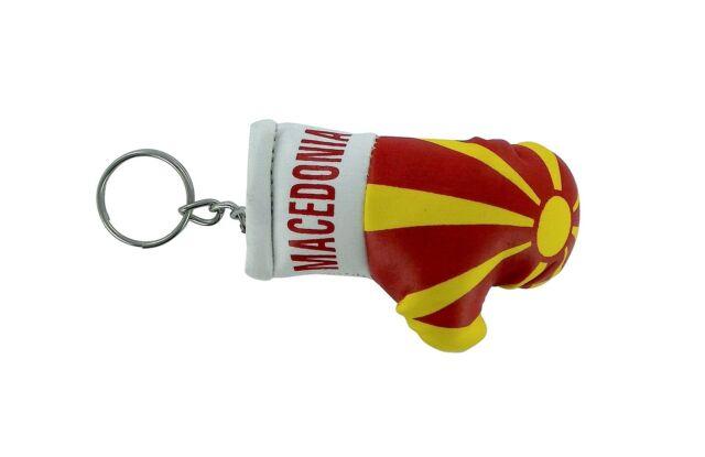 Keychain Mini boxing gloves key chain ring flag key ring cute GEORGIA GEORGIAN