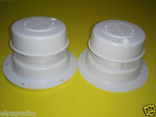 2 Sewer  or Gray holding Tank, Roof Vent Caps for RV, Motorhome, 2 Pcs.