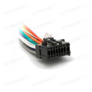 s l300 car dvd player stereo 16pin iso wiring harness xtrons 15 007 for xtrons iso wiring harness at bayanpartner.co