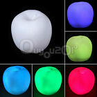 Color Changing Romatic Apple Christmas LED Night Light Lamp Party Decor Wedding