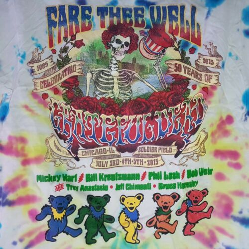 Dye reconnaissant Well mort double face shirt Tie anniversaire Tee 50e Tee Mate Fare 5jALq34R