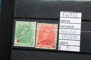 FRANCOBOLLI-BELGIO-USATI-N-129-30-F41772
