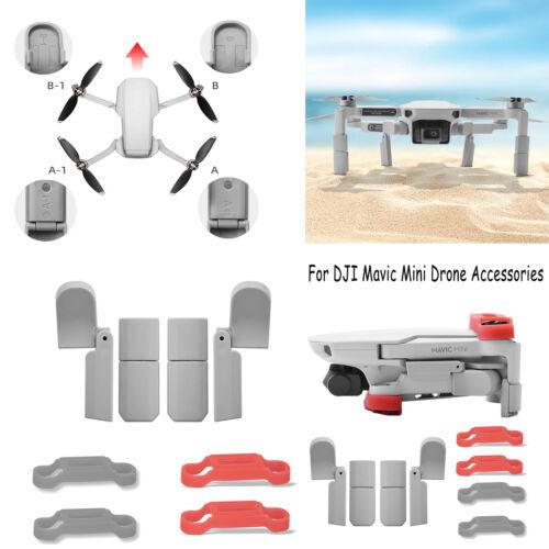 Landing Gear Leg Skid Extended For DJI Mavic Mini Drone Propeller Props Bracket
