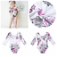 Baby-Toddler-Girls-Floral-Long-Sleeve-Romper-Jumpsuit-Bodysuit-Playsuit-Outfit thumbnail 2