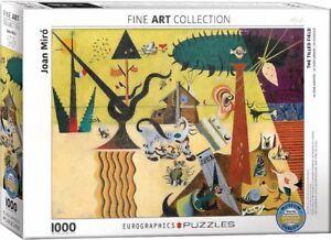 Eurographics Puzzle 1000 Piece Jigsaw Joan Miro The Tilled Field EG60000858