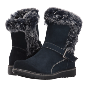 Spring Step Paco Navy bluee Winter Snow Boots Womens Size   US 8.5