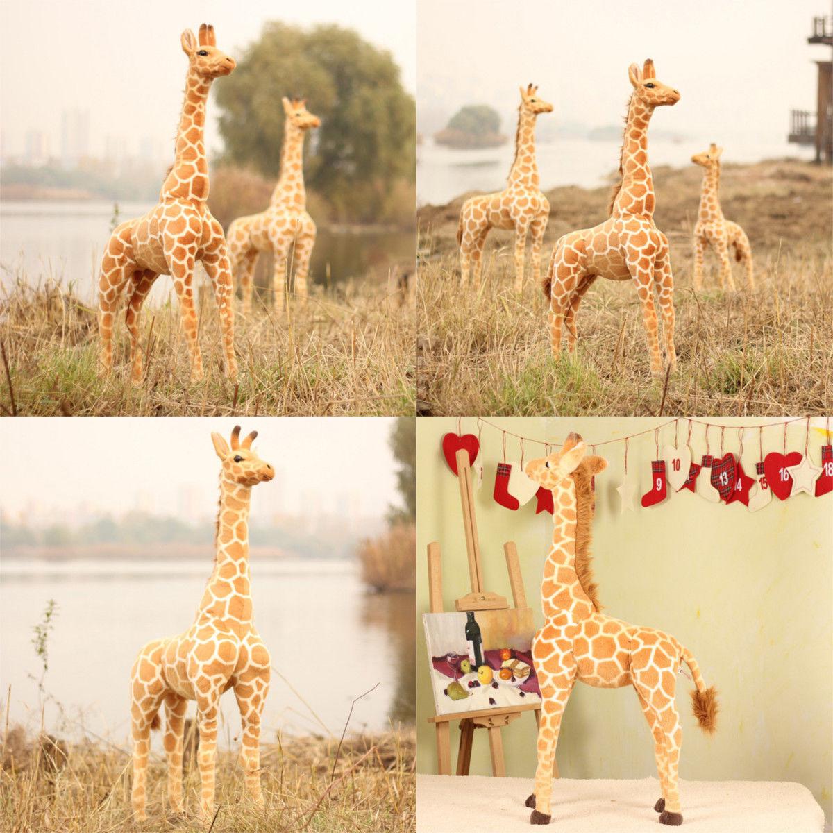 New Plush Giraffe Toy Doll Giant Large Stuffed Animals Soft Doll