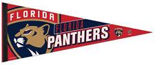FLORIDA PANTHERS Official New-School NHL Hockey Premium Felt Team PENNANT
