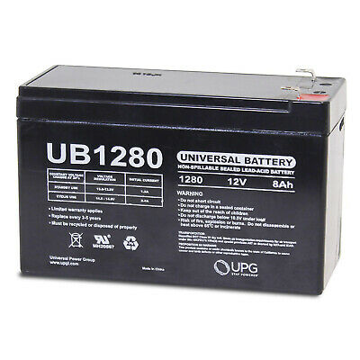 12v 1Amp Charger UPG 12V 8AH Replacement Battery for Sea Doo Sea Scooter ZS06