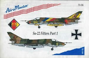 Su-22 Fitters Part 1 1/72 AeroMaster 72-126