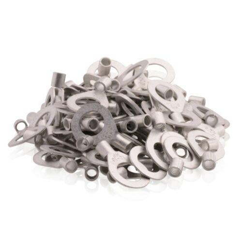 tin-plated Ring cable lugs connectors Hole M6 2,5-6,0 Qmm 100 Piece jsqksr 6-6