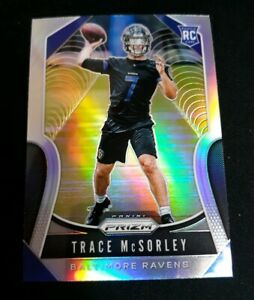 2019-Panini-Prizm-TRACE-MCSORLEY-Silver-Prizm-Rookie-RC-SP-RAVENS-309