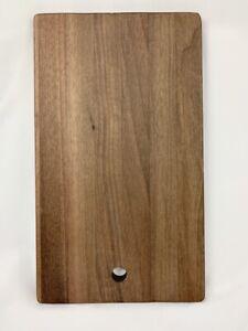 Tagliere da cucina in legno di noce massello 300x197x17artigianale made in Italy