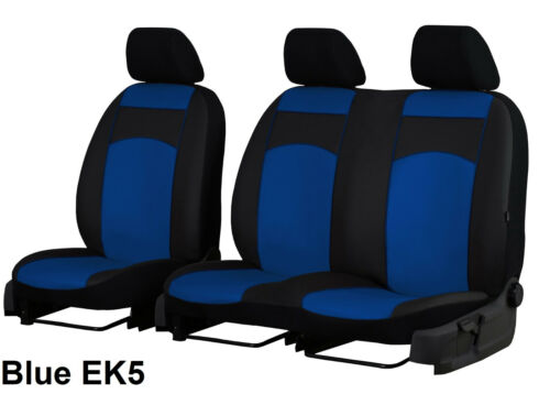 MERCEDES SPRINTER VAN 2+1 2006-2018 ECO LEATHER SEAT COVERS MADE TO MEASURE