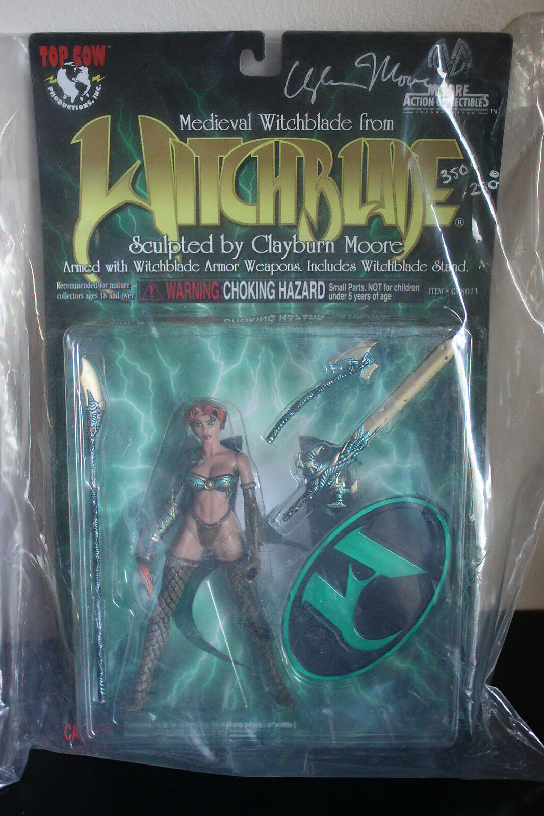 Medieval Medieval Medieval Witchblade From Witchblade Moore Action Collectibles Autographed ae70a1