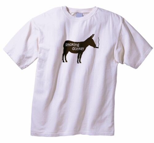 5XL !! The Original SMOKING DONKEY Cigar T-Shirt ONLY $12.95 w FREE Shipping S