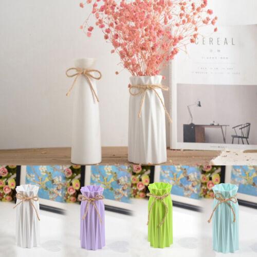 Modern Plastic Vases Nordic Style Anti-ceramic Flower Vase Home Decor Simplicity