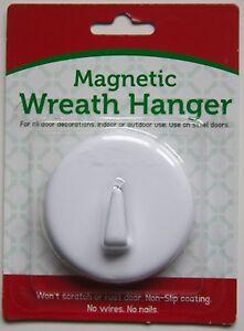HEAVY-DUTY-Magnetic-Wreath-Hanger-Rubberized-Door-Hook-ASSORTED-COLORS