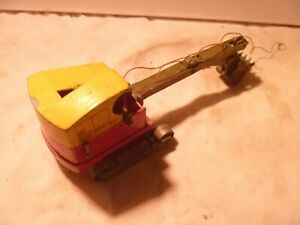 VINTAGE diecast BENBROS toys ruston bucyrus EXCAVATOR spare parts