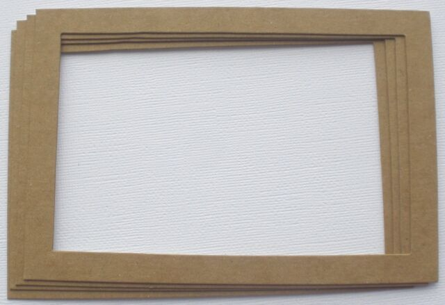 3 4 X 6 Picture Frames - Photo Frame Unfinished Bare Chipboard Die ...