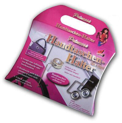 2er Set Handtaschenhalter   Taschenhaken   Taschenhalter   Taschenaufhänger