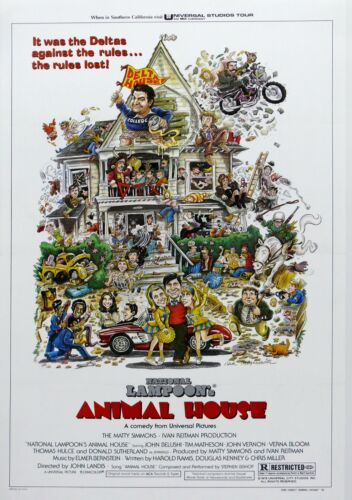 "/""National Lampoons Animal House/""...Classic Comedy Movie Poster  A1A2A3A4Sizes"