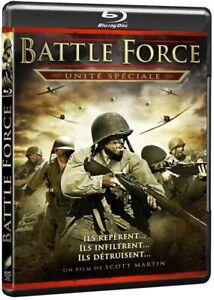 Battle-Force-Unite-Speciale-BLU-RAY-NEUF-SOUS-BLISTER-Seconde-Guerre-Mondiale