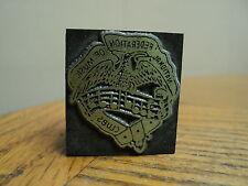Vintage Nationl Federation Music Clubs Printing Press Ink Stamp Block Printing