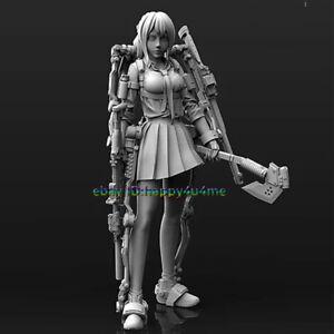 Unassembled-Resin-1-24-Bandit-leader-Figure-Model-Unpainted-Garage-Kits-Statue