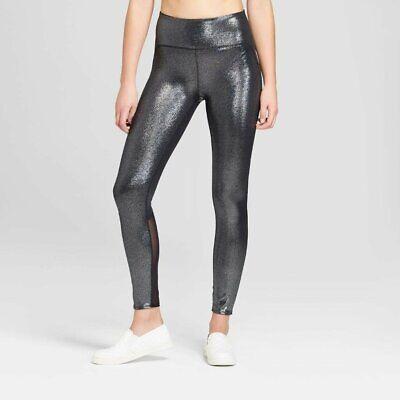 Women/'s Plus Size  High-Waisted Shine Leggings with Side Pockets XXL JoyLab™