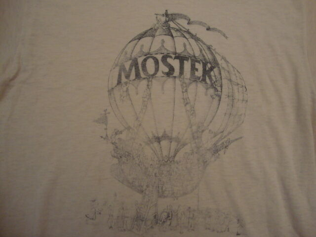 Vintage MOSTEK ultra rare Computer DRAM Texas 50 50 hot air balloon T Shirt  S