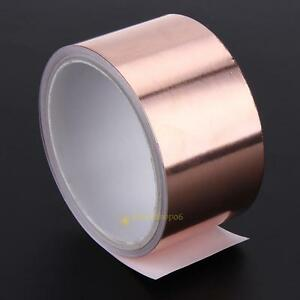 5 5m 5cm Durable Adhesive Copper Foil Tape Double Side