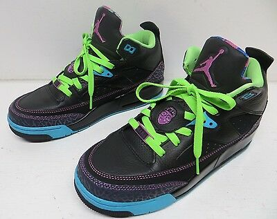 timeless design 67bfa 9c9d9 Nike Air Jordan Son Of Mars Low GS Fresh Prince Bel Air Black Gamma Youth 7