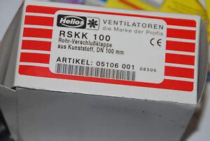 Helios 05106 Rskk 100 Rohr Verschlusskappe Kunststoff Dn 100mm
