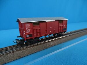 Marklin-4950-FS-Closed-Goods-Car-Brown