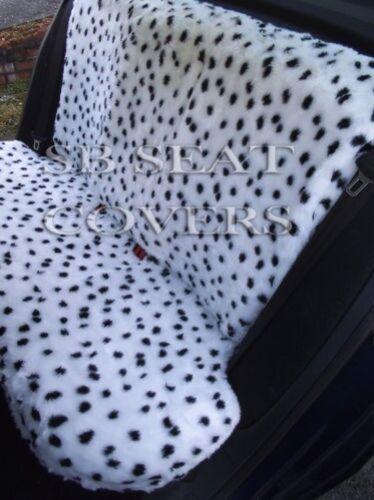 Volkswagen Beetle Polo Autositzbezüge Dalmatiner Flauschiges Fellimitat