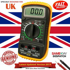LCD Digital Multimeter Ammeter Voltmeter Ohmmeter AC DC Volt Tester Meter Buzzer