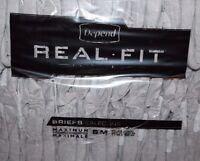 Depend Real Fit For Men Briefs Maximum Absorbency Small/medium 56 Ct