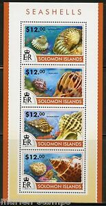 SOLOMON-ISLANDS-2015-SEASHELLS-SHEET-MINT-NH