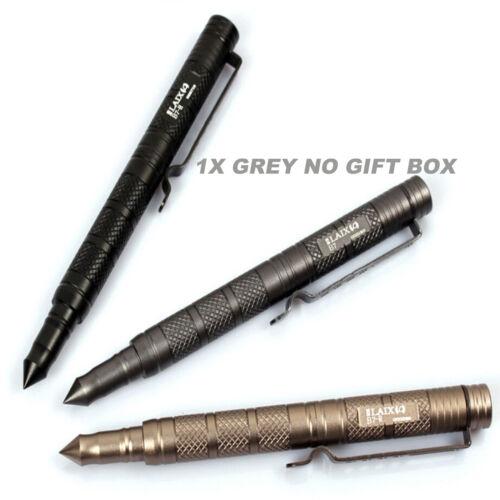 UK EDC PSK Aircraft Aluminum Tactical Self-defense Survival Tool Pen 3 COLORS