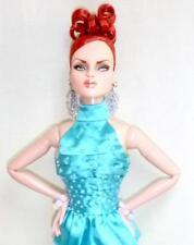 "2014 MDCC Horsman Urban Vita Mesmerizing Ysla 16"" Doll Turquoise Joe Tai Fashion"
