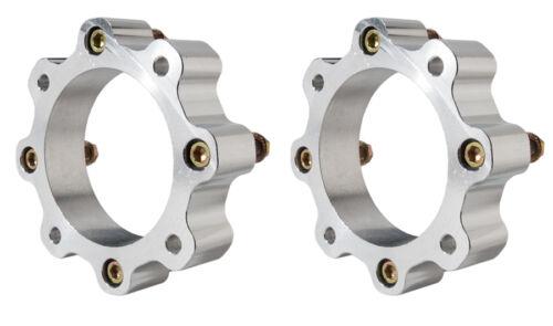 """Raptor 700 660  1.5/""""  Wheel Spacers  Front Pair add 3/"""" width   Alba Racing 4//156"""