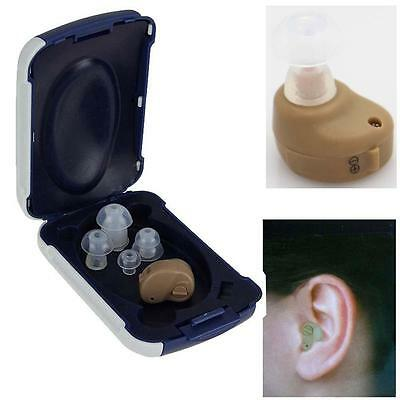 2017 Best Sound Small In The Ear Sounds Amplifier Adjustable Hearing Aids Aid #G