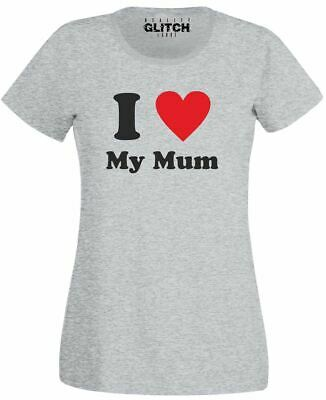 Womens T-Shirt Sayings My First Mothers Day Womens Tops Short Sleeve Summer Novelty Graphic Tees Shirts Cute Mom Shirt