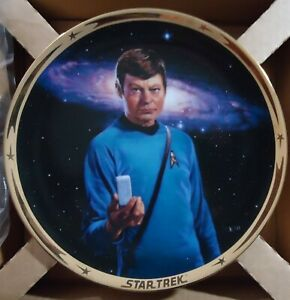The Star Trek 25th Anniversary Collection MCCOY Plate