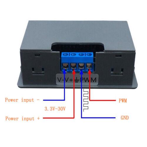 Signalgenerator DC 3.3 30V Funktionsgenerator 5 30mA LCD Anzeige