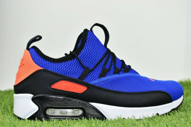 Nike Mens Air Max 90 EZ Ao1745 400 Blue Black White Size 11