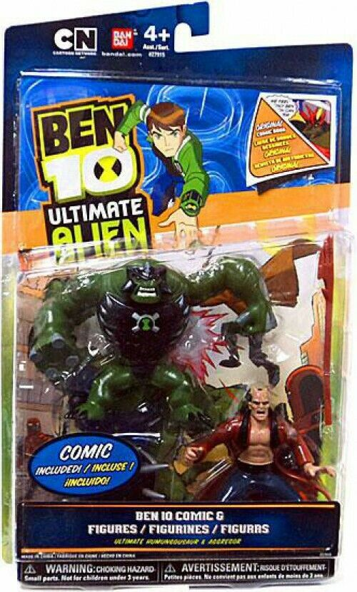 Comic Book Series Ultimate Humungousaur & Aggregor Action Figure 2-Pack